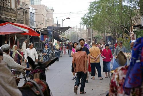 Kashgar street