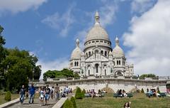 Sacré-Cœur de Montmartre, Paris (kalakeli) Tags: churches kirchen sacrécœurdemontmartre montmartre paris france juli july 2018