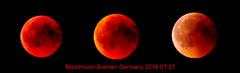 Playing with the Bloody Moon (BrigitteE1) Tags: moon spielen play boxblur bremen germany mondfinsternis bloodmoon lunareclipse blutmond freihand freehand