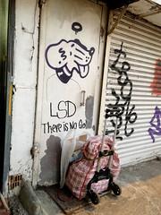 LSD There is No God (cowyeow) Tags: lsd drug drugs bad trolly graffiti wall 香港 weird mongkok street corner kowloon chinese china alley giraffe art cartoon fun asia asian funny funnychina hongkong funnyhongkong god faith religion door streetart dog cartoondog cute