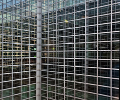 Frankfurt-Main-airport (dr_scholz@ymail.com) Tags: architecture glass aluminum building modern sky reflection lines square straight leicam240 summicron35mmf2asph summicronm