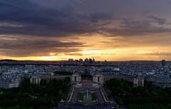 Paris (Sarah Marston) Tags: paris france sunset may 2018 cityscape clouds sony ilce6300