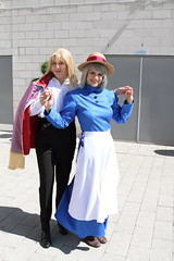 Howl and Sophie (NekoJoe) Tags: amecon amecon2018 ame ame2018 animeconvention convention cosplay cosplayers coventry england gb gbr geo:lat=5237948629 geo:lon=156138361 geotagged ghibli howl howlsmovingcastle midlands sophie sophiehatter studioghibli uk unitedkingdom warwickartscentre