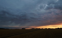 Stubble Fields, E. Yorkshire (EmPhoto.) Tags: evening storm eastyorkshire rural stubblefields caughtredhanded emmiejgee landscapepassion uk bigsky sonya7rm2 canon1635mm