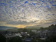 What a view to wake up to ❤️ (Kathryns Photography) Tags: sky clouds sunrise derbyshire time naturephotograhy backgarden longdendalevalley
