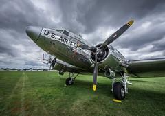 C-47 (swastro) Tags: 2018 airforce airshow aircraft airplane airventure c47 clouds d750 douglas eaa nikon oshkosh propeller skytrain usaf ww2 worldwar2 worldwarii