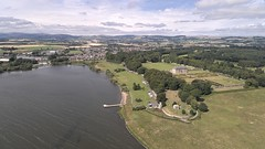 Loch Leven (ShinyPhotoScotland) Tags: art photography equipment camera places scotland perthshire rawconversion manipulated composite hdr enfuse digikam composition drone dji phantom4advanced highviewpoint rawtherapee serifaffinityphoto kinross kirkgatepark lochleven