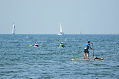 Summer On The Great Lakes / Lake Ontario .... Toronto (Cherry Beach) Ontario, Canada (Greg's Southern Ontario (catching Up Slowly)) Tags: cherrybeach lakeontario greatlakes kayaking paddleboard sailboats water summer summertime summerincanada nikon