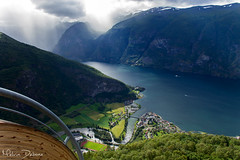 Aurland - Norway (Melvin Debono) Tags: aurland is municipality county sogn og fjordane south side sognefjorden traditional district norway melvin debono canon 7d travel photography fjord nature landscape sea sky grass lake water mountain bay river rock mountainside lunde sognogfjordane