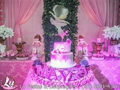 Bailarinas by Lu Festas & Decorações (Lu Festas e Decorações) Tags: decoração de aniversário bailarinas meninas festas infantis