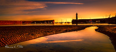 Brand New Day (RonnieLMills 5 Million Views. Thank You All :)) Tags: donaghadee lighthouse harbour early morning low tide tidal pool reflections 316aerialmedia sand ripples water boats county down northern ireland