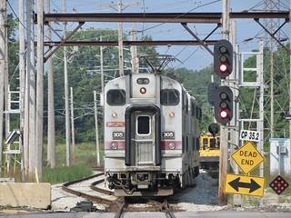 South Shore Line / CP 35.2 Westbound