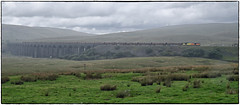 Lashing Rain (Welsh Gold) Tags: 60021 6j37 carlsile yard chirk logs timber train ribblehead battymoss viaduct settlecarlisleline yorkshire