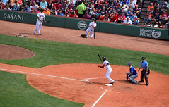 Eduardo Nunez at Bat (RockN) Tags: nunez dh bostonredsox baseball fenwaypark july2018 boston massachusetts newengland