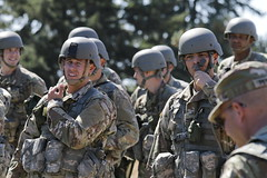 Officer Candidates from 205th RTI activate the Regiment for OCS Phase 3 (Washington National Guard) Tags: officer candidates washington army national guard waarng consolidated ocs phase iii joint base lewismcchord north fort lewis jblm 205th regiment 122nd public affairs operations center paoc
