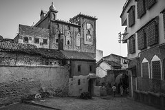 Untitled (Darren Poun) Tags: chefchaouen morocco africa arabic arab traveling nikon d800 d800e f14 architecture nikkor24mm sunset street