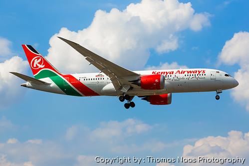 Kenya Airways, 5Y-KZG :  Magical Kenya