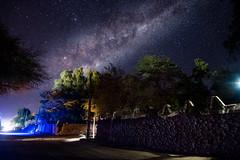 Streets of San Pedro de Atacama, Chile (holecem) Tags: night nightsky nightphotography sanpedrodeatacama sanpedro milkyway chile atacama desert trip sky stars street