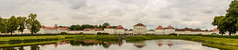 Nymphenberg panorama (stevefge (away travelling)) Tags: 2018 deutschland duitsland germany munchen nymphenburg palace architecture bavaria bayern houses buildings archtecture panorama landscape water lake trees bomen reflectyourworld reflections roof cloud baroque
