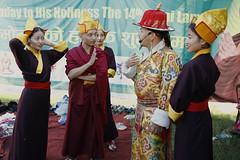(Tenzin Samphel) Tags: tibetan opera performer art artist behindthescenes culture worldculture festival tibet lhamo folkart nepalphotoproject colorsoftibet beautyoftibet kathmandu nepal himalayaart
