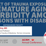 ACRM Annual Conference International Rehabilitation symposium: 422220 Ohry thumbnail