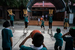 Thailand, August 2018 (Thanakorn Treratanaboot) Tags: thailand streetphotography street everybodystreet school green education august 2018 sony sonya9 a9 elmarit leica decisivemoment