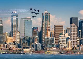 Blue Angels in Seattle!