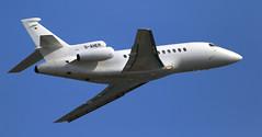 Dassault Falcon-900EX / D-AHER (vic_206) Tags: dassaultfalcon900ex daher bcn lebl