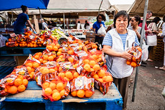 Orange (Nora Kaszuba) Tags: norakaszuba fuji16mmf14 fujixt2 streetphotography outdoormarket bostonmassachusetts vegetables fruits vendors haymarket oranges orange