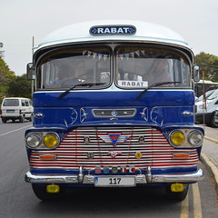 Valletta-Rabat In Style [Rabat - 29 April 2018] (Doc. Ing.) Tags: 2018 malta rabat mdina square bus coach vehicle blue metal iron detalhesemferro irondetails classic