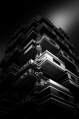 Cube (Fabdub) Tags: poselongue longexposure monochrome minimalism minimalist noiretblanc blackwhite architecture light sky contrast urban urbanexploration urbex summilux 28mm filter