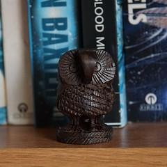 Macro Mondays: trinket: wol (quietpurplehaze07) Tags: macromondaystrinket wol owl wooden daughter macro 7dwfmondays anythinggoes