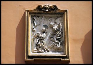 Madonnella di Roma, Annunciazione, via Urbana, 22, Rione Monti