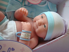 Little Baby Boy (Deejay Bafaroy) Tags: calinou berenguer doll puppe lanewborn newborn baby blue blau lightblue hellblau white weiss nrfb cute sweet niedlich süss herzig portrait porträt jctoys