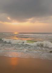 Bay of Bengal (ossington) Tags: sunrise incredibleindia chennai bayofbengal waves