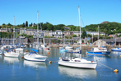 AT PORTHMADOG HARBOUR. (tommypatto : ~ IMAGINE.) Tags: wales yachts harbours porthmadog