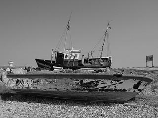 Le Crotoy, baie de Somme.