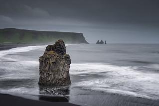 Sea Stacks at Vik, ICELAND
