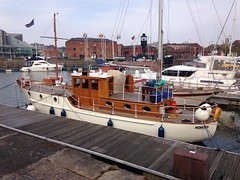 Mimosa one of Dunkirk little ships. (David Shreeve) Tags: boat ww2 maritime marina humber humberside hull heritage dunkirk yacht