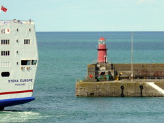 18 08 10 Stena Europe arriving Rosslare (26) (pghcork) Tags: stenaline ferry ferries carferry stenaeurope ireland wexford rosslare ships shipping