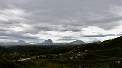 Lonely Mountains (Martin Burns) Tags: nc500 mountain inselberg suilven canisp culmor culbeg