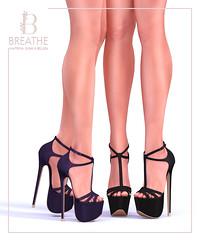 [BREATHE]-Toya Heels ([Breathe]) Tags: breathe secondlife fameshed maitreya slink belleza mainstore heels