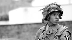 Camp WWII Ploudalmézeau (patrick_milan) Tags: ploudalmézeau military camp portrait soldat gi airborne us