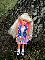Polly Pocket Stacie (flores272) Tags: pollypocketstacie staciedoll stacie pollypocket outdoors barbie barbiedoll doll dolls toy toys