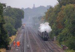 Union of South Africa and the Dorset Coast Express (Colin Weaver) Tags: 60009 462 pacific steam heritage loco locomotive railway railroad lner gresley