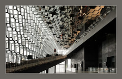 glass architecture (Körnchen59) Tags: glas glass architecture opernhaus gebäude indoors innen reykjavik island körnchen59 elke körner sony5000
