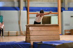 DSC_6036 (Amateur 'tog from Exeter) Tags: royalmarinescommando marinecadets rmvcc vcc ctcrm rm ctc lympstone military physdisplay babybootneck gym vaulting frontflip backflip kids children child pti pe exmouth exeter