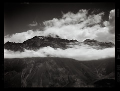 Cloudline (tsiklonaut) Tags: fuji fujifilm ga645i 6x45 medium format film analog analogue analogica analoog 120 roll acros 100 bw monochrome georgia gruusia caucasus mountains high altitude kaukasuse mäed pilvepiir pilved asia aasia landscape maastik mägine travel discover experience drum scan drumscan scanner pmt photomultipliertube ngc