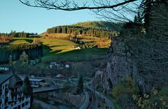Schwarzenberg im Murgtal (MHikeBike) Tags: wald berge wasser bäume nationalpark schwarzwald nordschwarzwald murg murgtal baiersbronn huzenbach schönmünzach wandern wege ruhe berg radweg fahrrad weg
