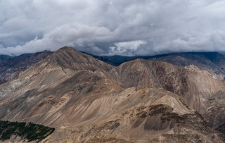 Rugged Landscape of Spiti Valley